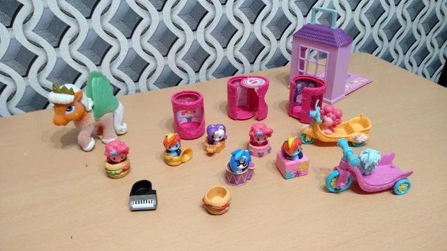 Figurki My little pony + dodatki