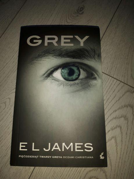 "Książka E.L. James ""Grey"""