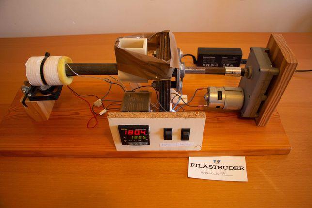 Extrusora para filamento 3D