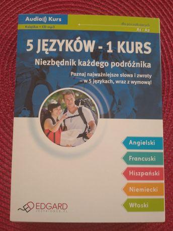 Audio kurs Niezbędnik podróżnika ; 5 języków 1 kurs