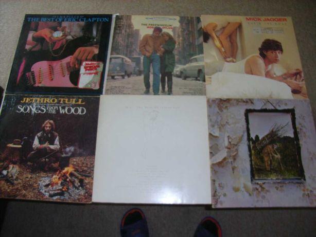 Plyty winylowe Jethro Tull Led Zeppelin Bob Dylan Eric Clapton Mick Ja