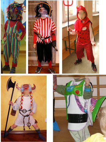 strój kostum karnawał helloween pirat diabeł toy story rycerz drakula