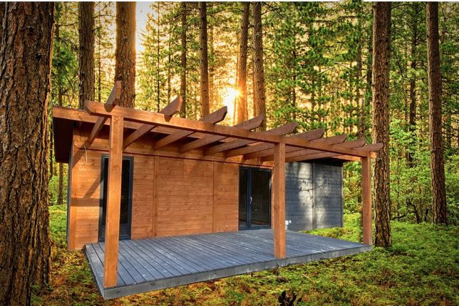 Domek rekreacyjny całoroczny CRA5 - 35 m²