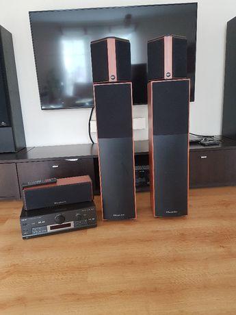 Głośniki Wharfedale Crystal 30 wh2 5.0 Amplituner Technics SA-Dx850