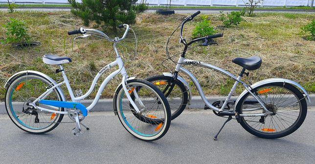 Почти НОВЫЙ Шикарный Алюминиевый Giant Simple Велосипед 26