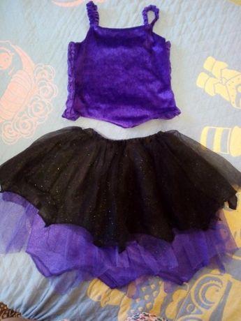 Классный костюм юбка топ 3-6 лет George