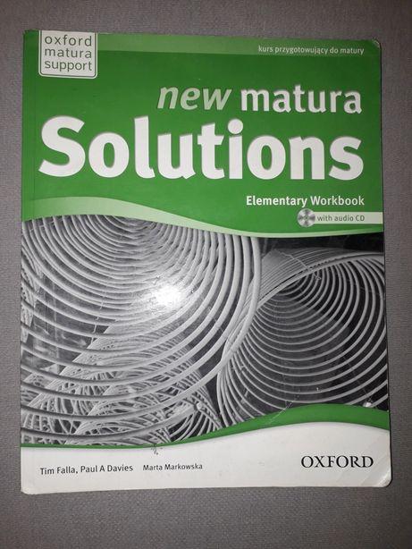 new matura Solutions JĘZYK ANGIELSKI ćwiczenia PUSTE