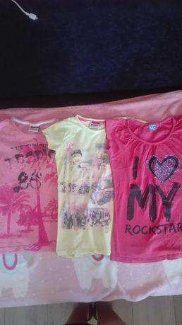 Koszulka,spódniczka 134-140