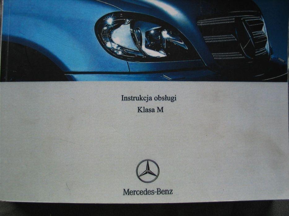 Instrukcja polska Mercedes ML W163 książka obsługi serwisowa Katowice - image 1