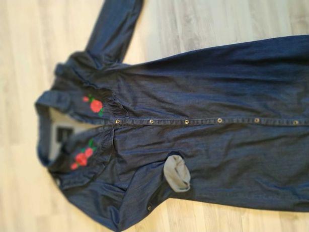 Sprzedam sukienkę jeans Reserved