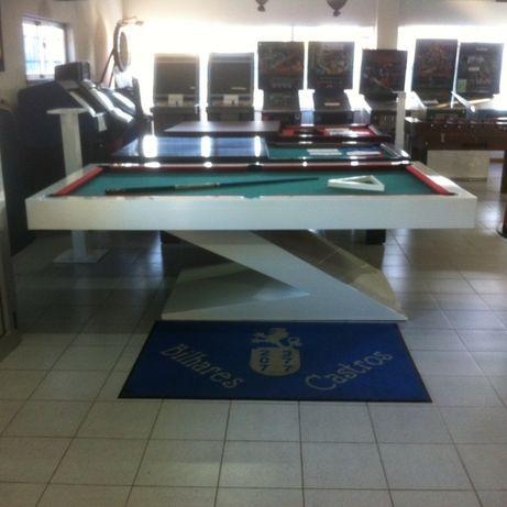 Snooker em Z branco Novo