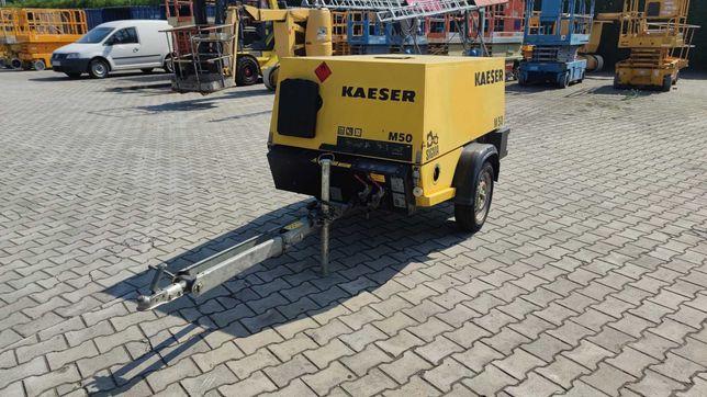 Kompresor KAESER M50 - przyczepka lekka - zarejestrowany