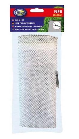 Siatka worek na wkłady do filtra na zamek 30x35cm
