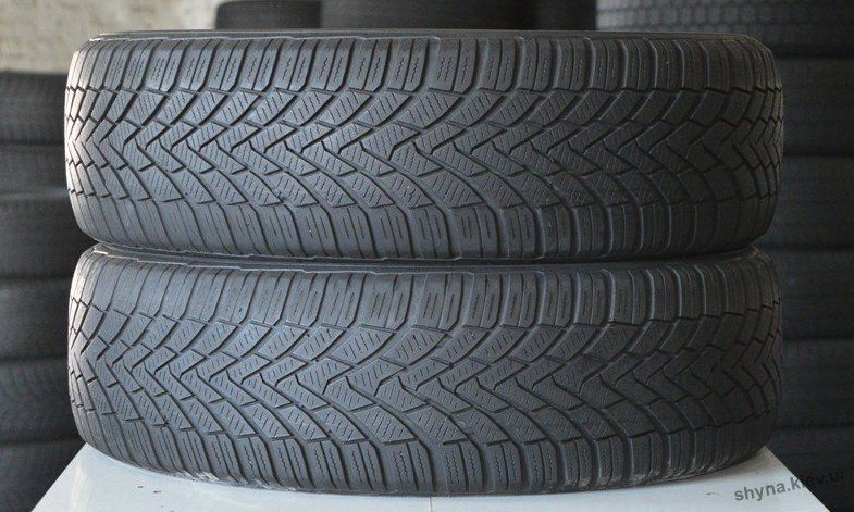 Зимние шины б/у 175/80 R14-88T-Continental Conti Winter Contact TS-850 Киев - изображение 1