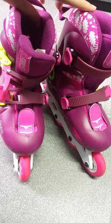 Patins de criança - marca OXELO - ajustáveis