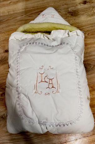 Конверт для новонароджених зимовий