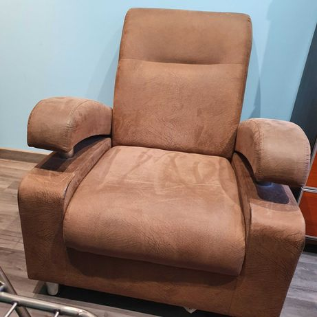 2 Fotele Brązowe