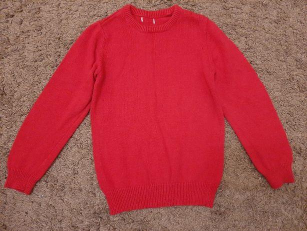 Новий в'язаний светер бордо 122р Італія