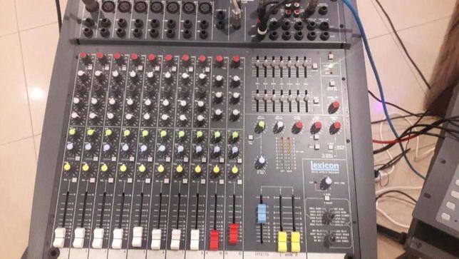 Продам активный микшерный пульт Soundcraft Power Station!