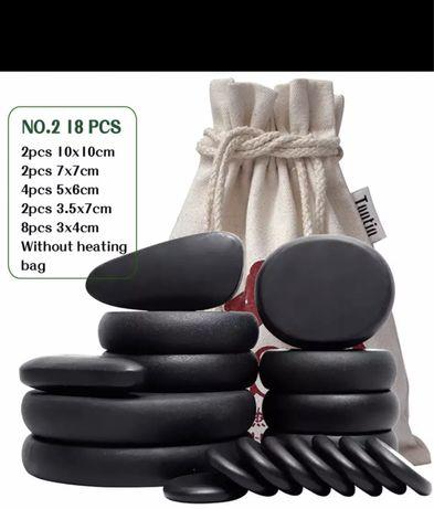 Комплект базальтовых камней для стоун-терапии 18
