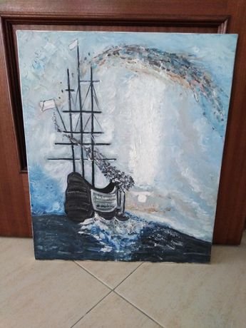 Pintura original óleo sobre tela