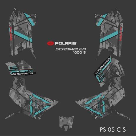 Polaris Scrambler Scrambler S Okleina na calego quada Sprawdona Jakość