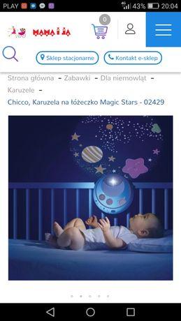Chicco Karuzela na łóżeczko kolor niebieski