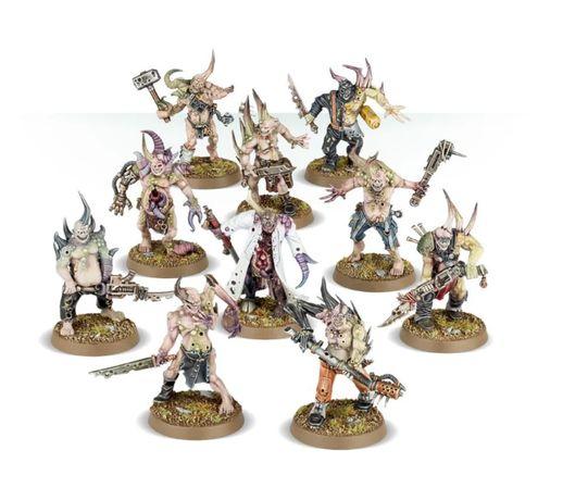 Warhammer 40000 10 Poxwalkers Death Guard