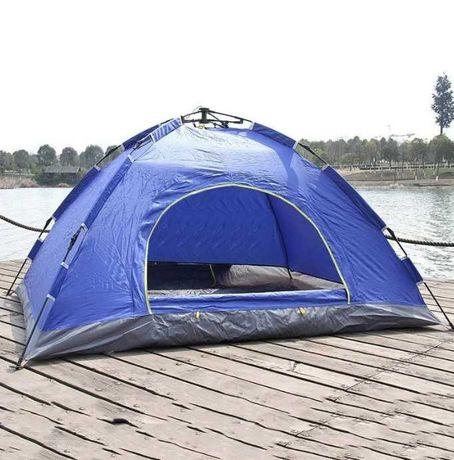 Fiberglass автоматическая Палатка 4-х местная, материала прочные дуги