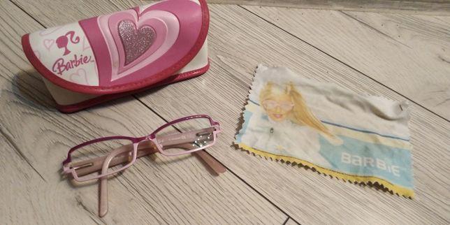 Oprawki do okularów dla dziewczynki z etui.