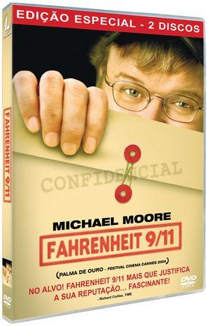 Fahrenheit 9/11 Edição Especial 2 DVDs Documentário Farenheit M. Moore