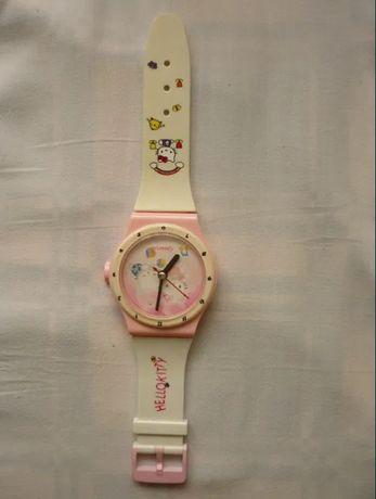 Zegar dla dzieci na ściane, Hello Kitty