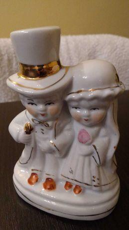 Figurka porcelanowa, para