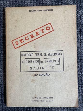 Governo Fascista Português - Secreto (Afrodite, 2.ª edição)