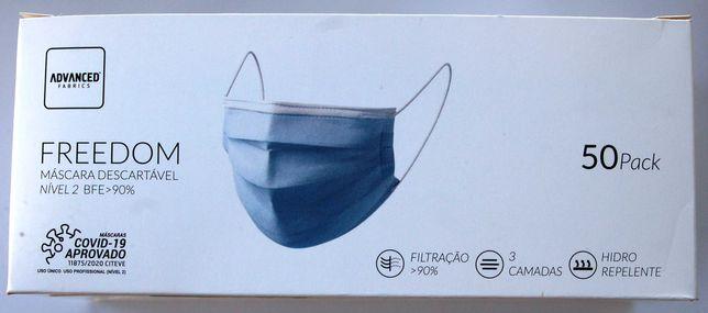 Mascaras cirúrgicas caixa de 50 unidades