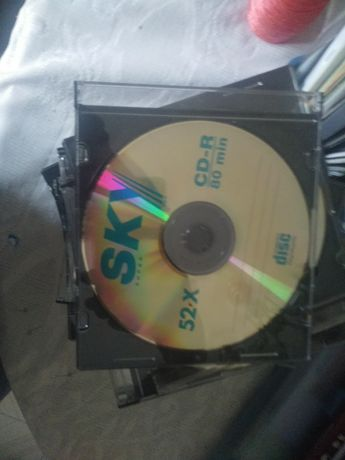 CDs usados para artesanato