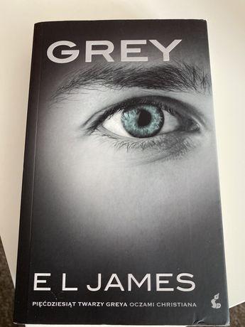 """Ksiazka """"Grey-Piecdziesiat Twarzy Oczami Greya"""""""