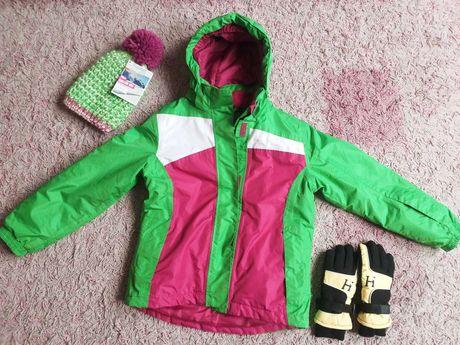 Zestaw kurtka+czapka+rękawiczki Crivit