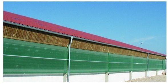 Tkanina przeciwwietrzna, 1 x 25 m-zatrzymuje 90% wiatru WYSYŁKA