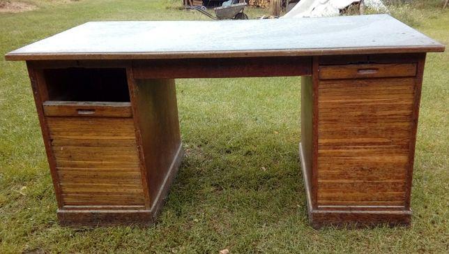 Zabytkowe przedwojenne biurko/antyk