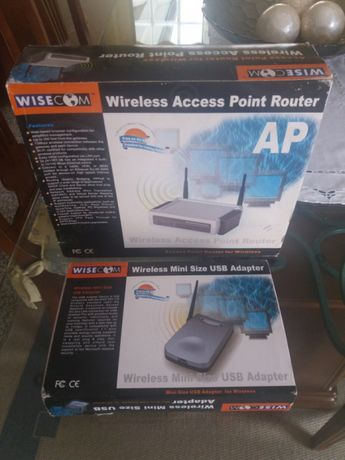 Router + Receptor wireless WISECOM