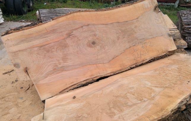 JESION foszty monolity deski - stół blat - grubość 82 mm, długość 2,1m