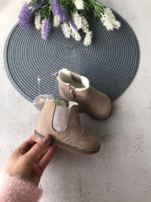 Ботинки hm 18/19 рр черевики hm взуття hm Луцк - изображение 1