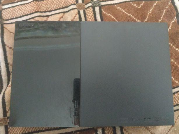 Продам приставку Sony Playstation 2 + 27 игр.Срочно!