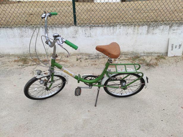 Bicicleta Antiga Esmaltina