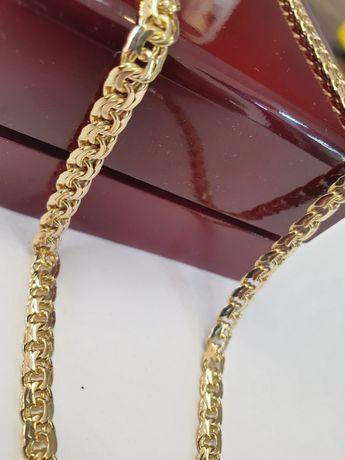 Łańcuszek złoty pr.585 waga 30g wzór galibardi