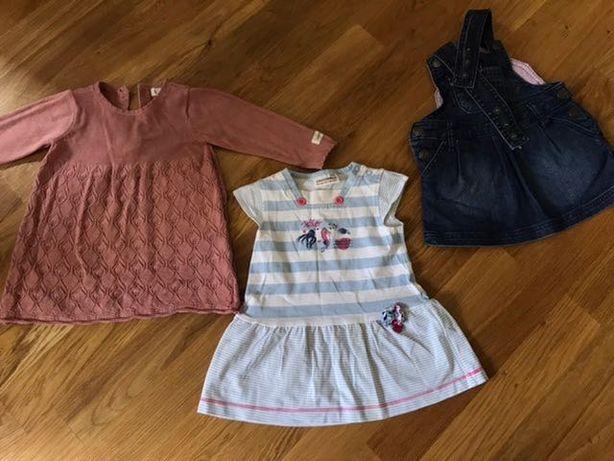 Komplet ubrań dla dziewczynki rozm. 68