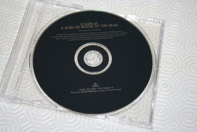 CD Coldplay - A Rush of Blood to the Head
