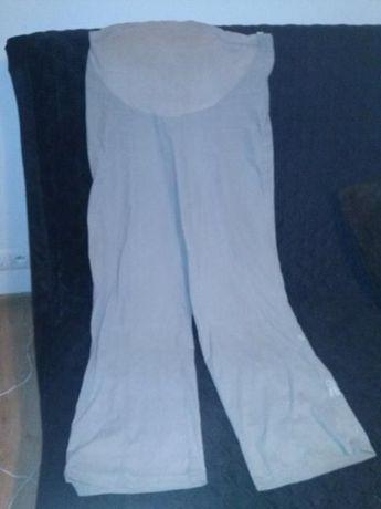 spodnie beżowe ciążowe - C&A rozm. M