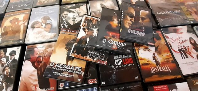 Filmes DVDS  80 unidades.